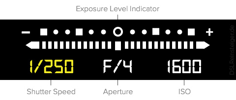 exposure level indicator